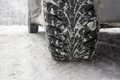Winter tire — Stock Photo