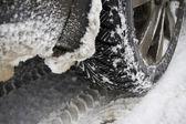 Winter tire — Stockfoto