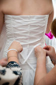 Bridal corset — Stock Photo