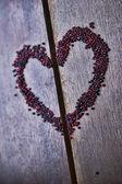 фон с сердцем для святого валентина — Стоковое фото