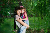 Young mother with child — Stock Photo