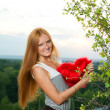 Red-haired girl — Stock Photo #40410833
