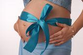 Human Pregnancy. — Stock Photo