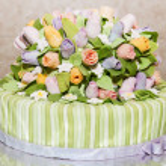 Beautiful tasty cake — Stock Photo #43846367