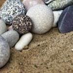 Background rocks and sand closeup — Stock Photo #48969671