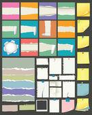 Papiersammlung — Stockvektor