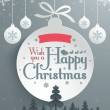 Christmas Message Design — Stock Vector #37296629
