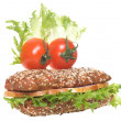 Stockfoto: Cheerful sandwich