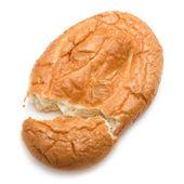 East matnakash bread, isolated on white — Stock Photo