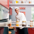 Royalty-Free Stock Photo: Portrait of handsome cook happy in his world