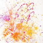 sulu boya boyalı soyut — Stok fotoğraf