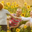 Happy family having fun — Stock Photo #14554037