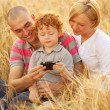 Happy family having fun — Stock Photo #14554121