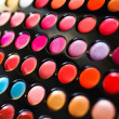 Professional make-up palette  — Stock Photo