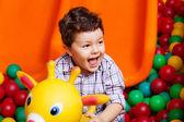 Little boy on playground — Stock Photo
