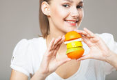 Healthy girl — Stock Photo