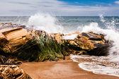 Portekizli kıyı şeridi. — Stok fotoğraf