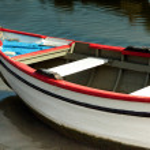 Small fishing boat. — Stock Photo #30387861