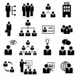 Management icon set — Stock Vector #13746692