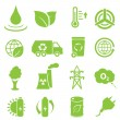 Постер, плакат: Ecology and environment icons