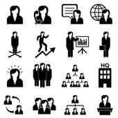 Businesswomen and teamwork — Stock Vector