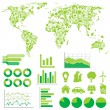 Ecology and environment infographics — Stock Vector