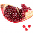 Pomegranate segment. — Foto de Stock