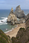 Ursa beach rocks — Stock Photo