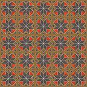幾何学的な繰り返しパターン — ストックベクタ