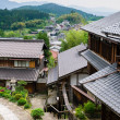 Traditional Village of Magome/Japan - Foto Stock