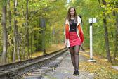 Portret jesieni — Zdjęcie stockowe