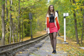 Retrato de outono — Foto Stock
