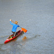 Paddlers — Stock Photo