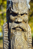 ídolo de madera — Foto de Stock