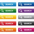 Search Buttons — Stock Vector #14135241