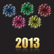 Royalty-Free Stock Vector Image: 2013 new year celebration