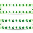 St. patrick's day banners — Stock Vector #20998827