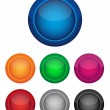 colorful buttons — Stock Vector