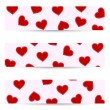 Valentine seamless banners — Stock Vector #38718635