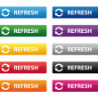 Refresh buttons — Stock Vector #42754715