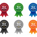 Bestseller labels — Stock Vector #50353921