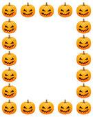Halloween photo frame — Stock Vector