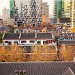 Stock Photo: Old Chinese Houses High Rises Xintiandi LuwShanghai China