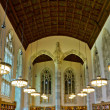 Yale University Sterling Memorial Library Study Hall - Stock Photo