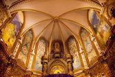 Monestir монастырь монтсеррат каталонии — Стоковое фото