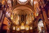 монастырь монастырь монтсеррат каталония, испания — Стоковое фото