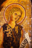 ángel mosaico monasterio montserrat cataluña españa — Foto de Stock