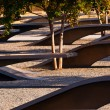 911 Memorial  to Victiims of Pentagon Attack Arlington Virginia — Stock Photo