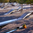 911 Memorial  to Victiims of Pentagon Attack Arlington Virginia - Stockfoto
