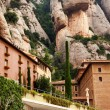 Monestir Monastery of Montserrat Barcelona, Catalonia, Spain — Stock Photo
